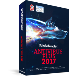 Bitdefender Antivirus Plus 1PC 1jaar